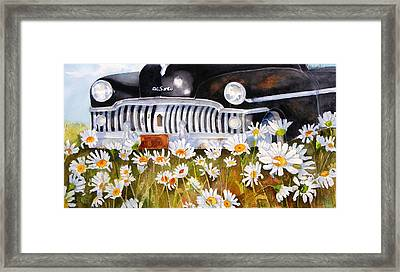 Daisy Desoto Framed Print by Suzy Pal Powell