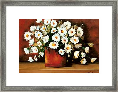 Daisy Doodle  Sold Framed Print