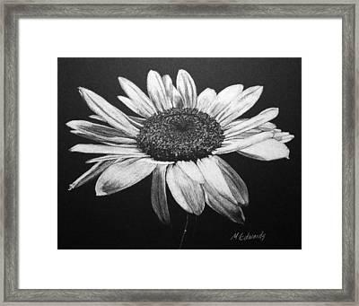 Daisy I Framed Print by Marna Edwards Flavell