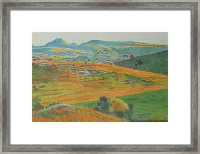 Dakota Prairie Dream Framed Print
