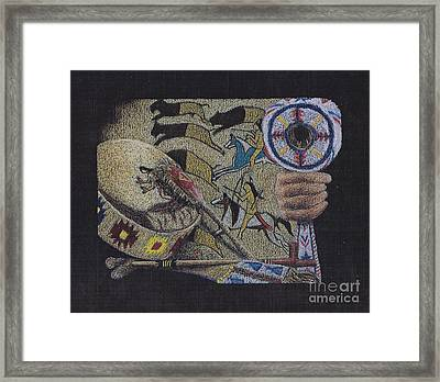 Dakota Pride Framed Print