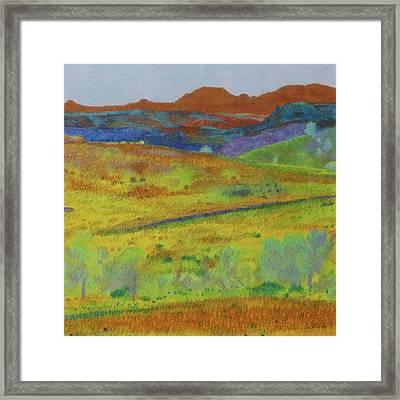Dakota Territory Dream Framed Print