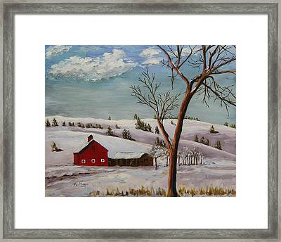 Dakota Winter Framed Print