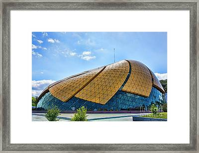 Dalat Archiecture Performing Arts  Framed Print by Chuck Kuhn