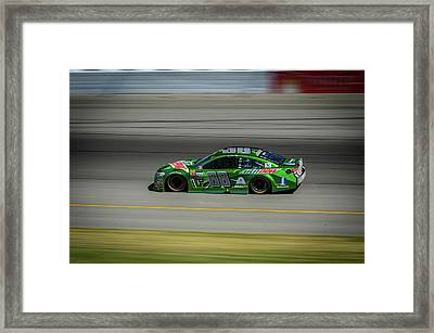 Dale Earnhardt At Mis 2017 Framed Print