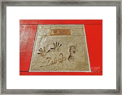 Dale Earnhardt Jr. Framed Print by Paul Mashburn