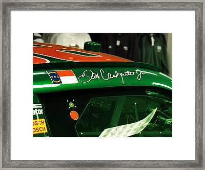 Dale Earnhardt Jr. Framed Print by Randy Laprade