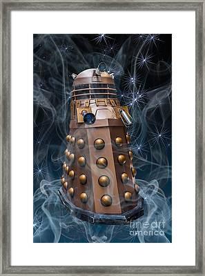 Dalek Framed Print by Steve Purnell