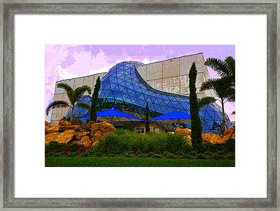 Dali Museum Framed Print by David Lee Thompson