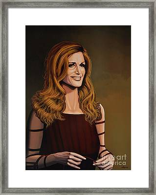 Dalida Framed Print by Paul Meijering