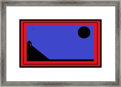 Dali's House Framed Print by Cletis Stump
