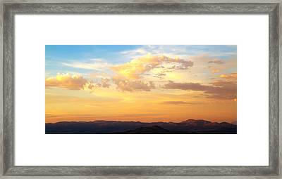 Dali's Sky Framed Print by Mike Hill