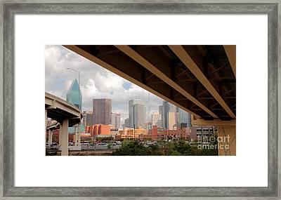 Dallas Backside Framed Print by Robert Frederick