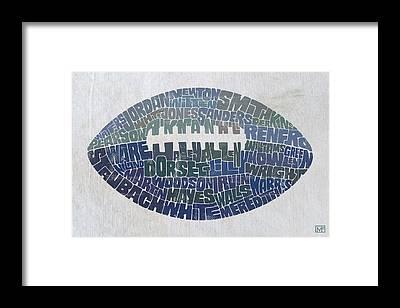 Football Framed Prints