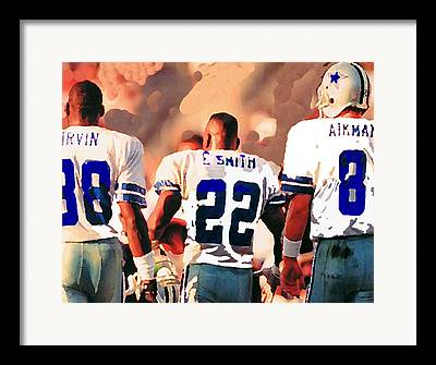 Michael Irvin Framed Prints