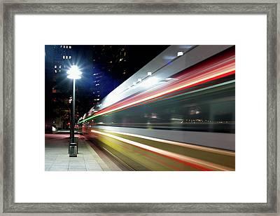 Dallas Dart Train 012518 Framed Print