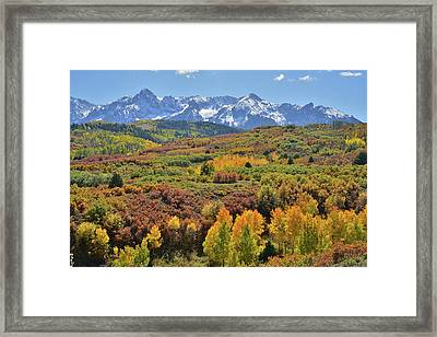 Framed Print featuring the photograph Dallas Divide Afternoon by Ray Mathis