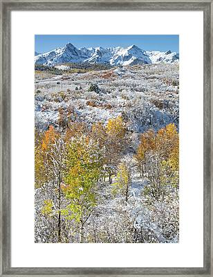 Dallas Divide In October Framed Print