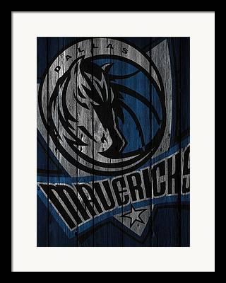 Dallas Mavericks Framed Prints