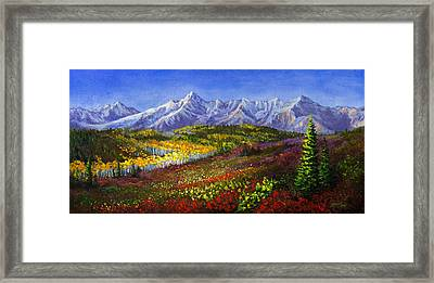 Dallas Pass Framed Print by C Steele