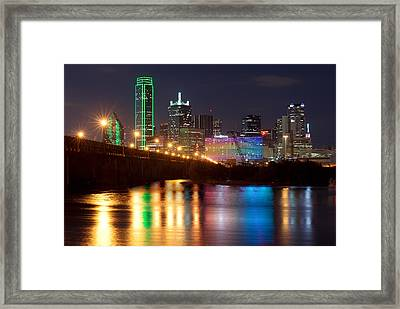 Dallas Reflections Framed Print