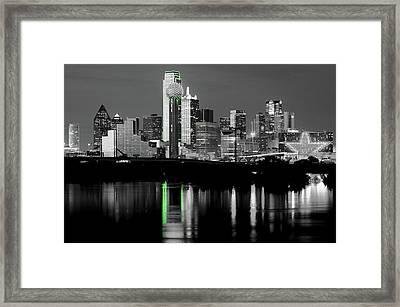 Dallas Skyline Gr91217 Framed Print