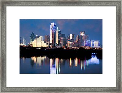 Dallas Skyline May 2015 Framed Print