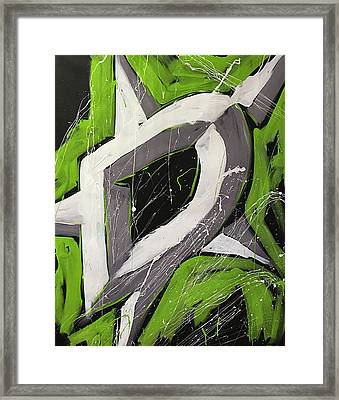 Dallas Stars Framed Print by Elliott From