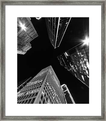Dallas Up Framed Print by John Gusky