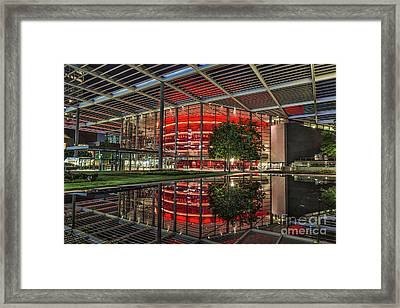 Dallas Winspear Opera House Framed Print by Tod and Cynthia Grubbs