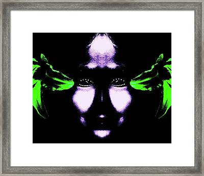 Dallis Framed Print by Tisha Beedle