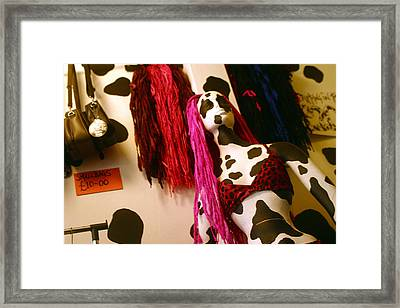 Dally Up The Day Framed Print by Jez C Self