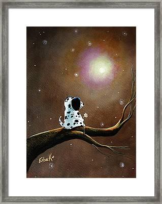 Dalmatian Painting Framed Print