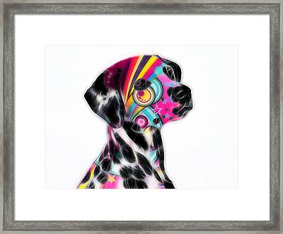Dalmation Collection Framed Print