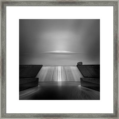 Dam Cloud Framed Print by Andy Lee