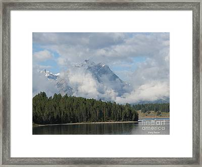 Dam Clouds Framed Print by Greg Patzer