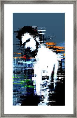 Damaged Framed Print by Balint Punok
