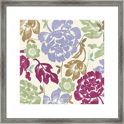 Damask Forest Framed Print by Mindy Sommers