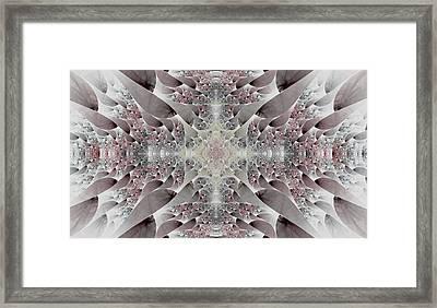 Damask Framed Print