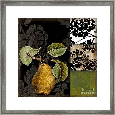 Damask Lerain Framed Print
