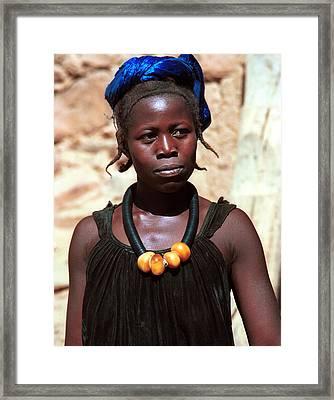 Damasongo 1987 Framed Print by Huib Blom