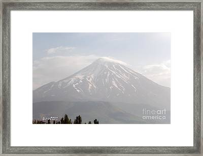 Damavand Mountain  Framed Print