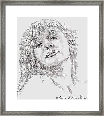 Dame Helen Mirren Framed Print