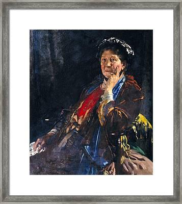Dame Madge Kendal Framed Print