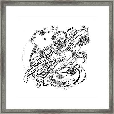 Damia Framed Print