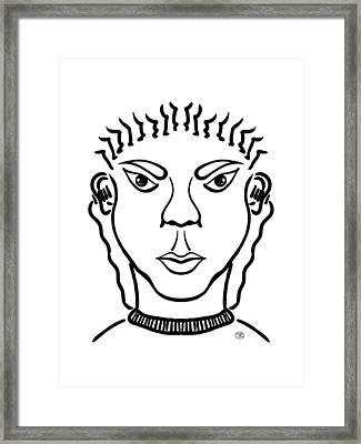 Damiao Framed Print