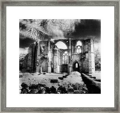 Dammarie Les Lys Abbey Framed Print by Simon Marsden