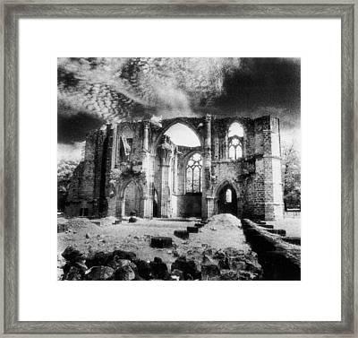 Dammarie Les Lys Abbey Framed Print by Simon Marsden