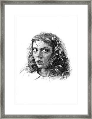 Dammit Janet Framed Print