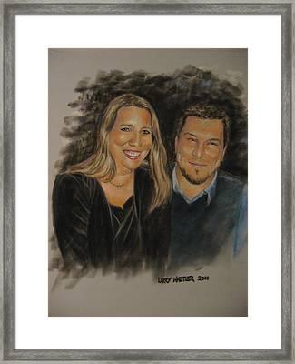 Dan And Missy Framed Print
